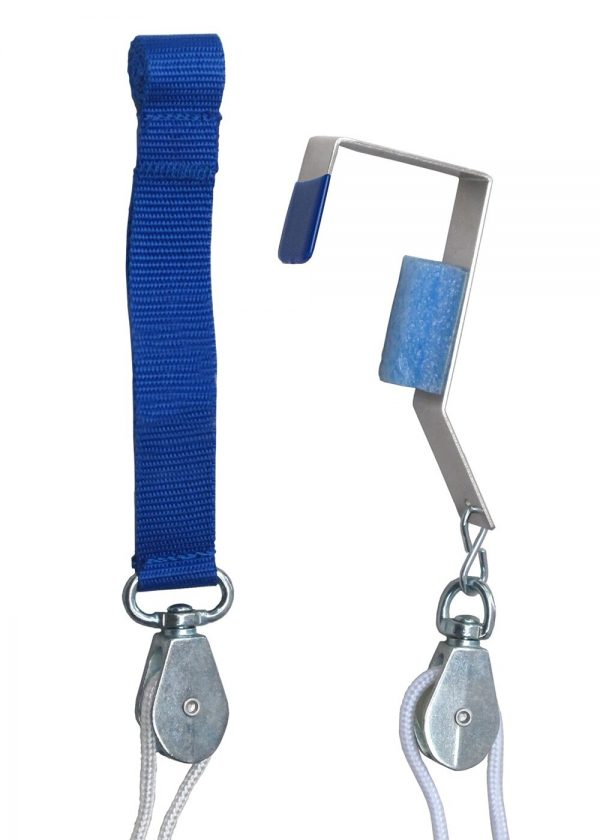 Pull-Easy™ Shoulder Pulley with grip-free hold